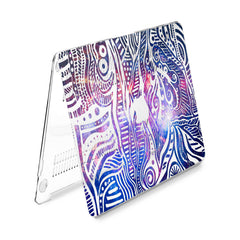Lex Altern Hard Plastic MacBook Case Galaxy Ornament