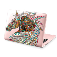 Lex Altern Hard Plastic MacBook Case Indian Horse