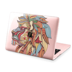 Lex Altern Hard Plastic MacBook Case Creative Lion
