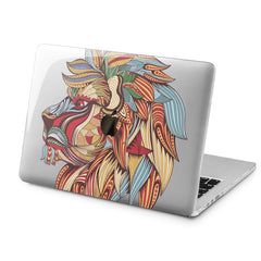 Lex Altern Lex Altern Creative Lion Case for your Laptop Apple Macbook.