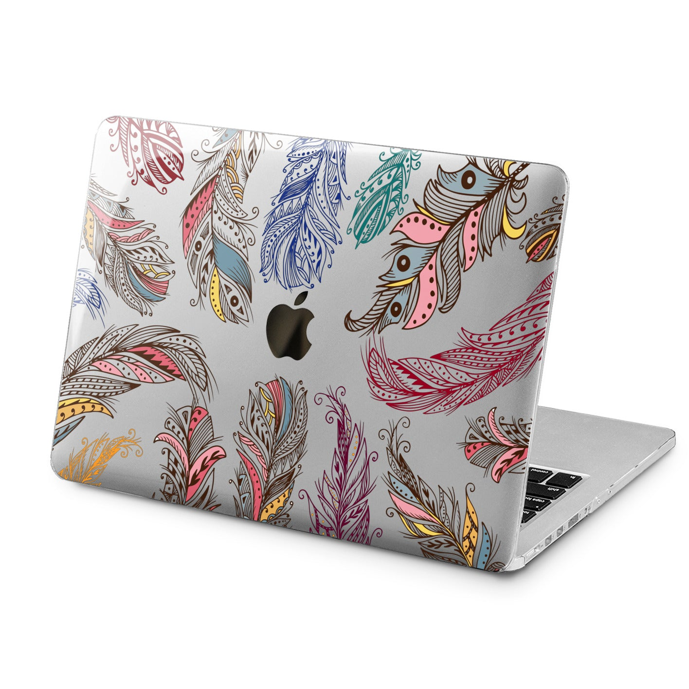 Lex Altern Lex Altern Amazing Feathers Case for your Laptop Apple Macbook.
