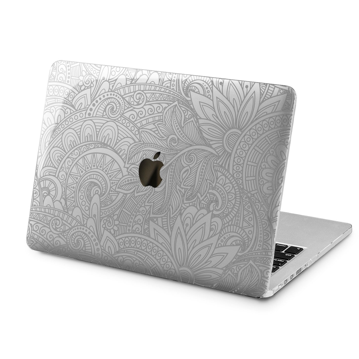 Lex Altern Lex Altern Mandala Lotus Theme Case for your Laptop Apple Macbook.