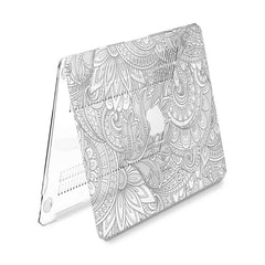 Lex Altern Hard Plastic MacBook Case Mandala Lotus Theme