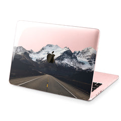 Lex Altern Hard Plastic MacBook Case Mountain Road