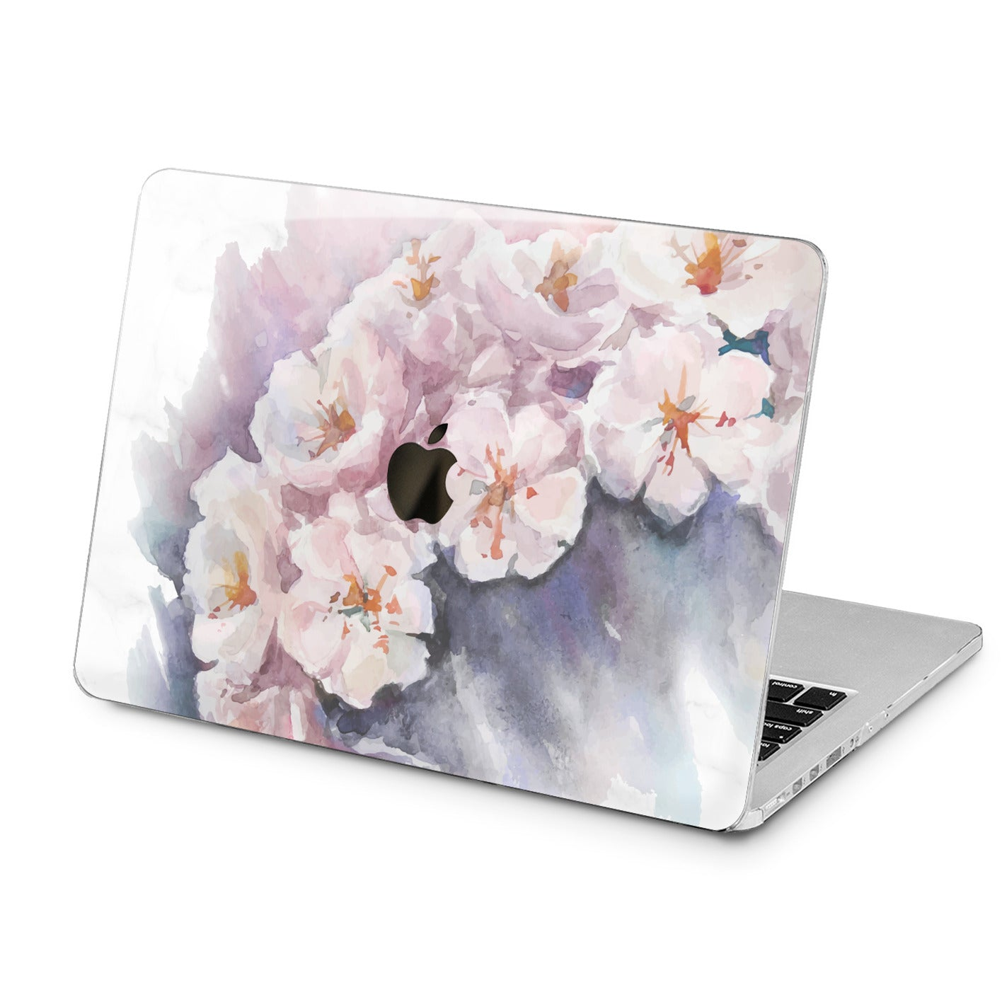 Lex Altern Lex Altern White Jasmine Blossom Case for your Laptop Apple Macbook.