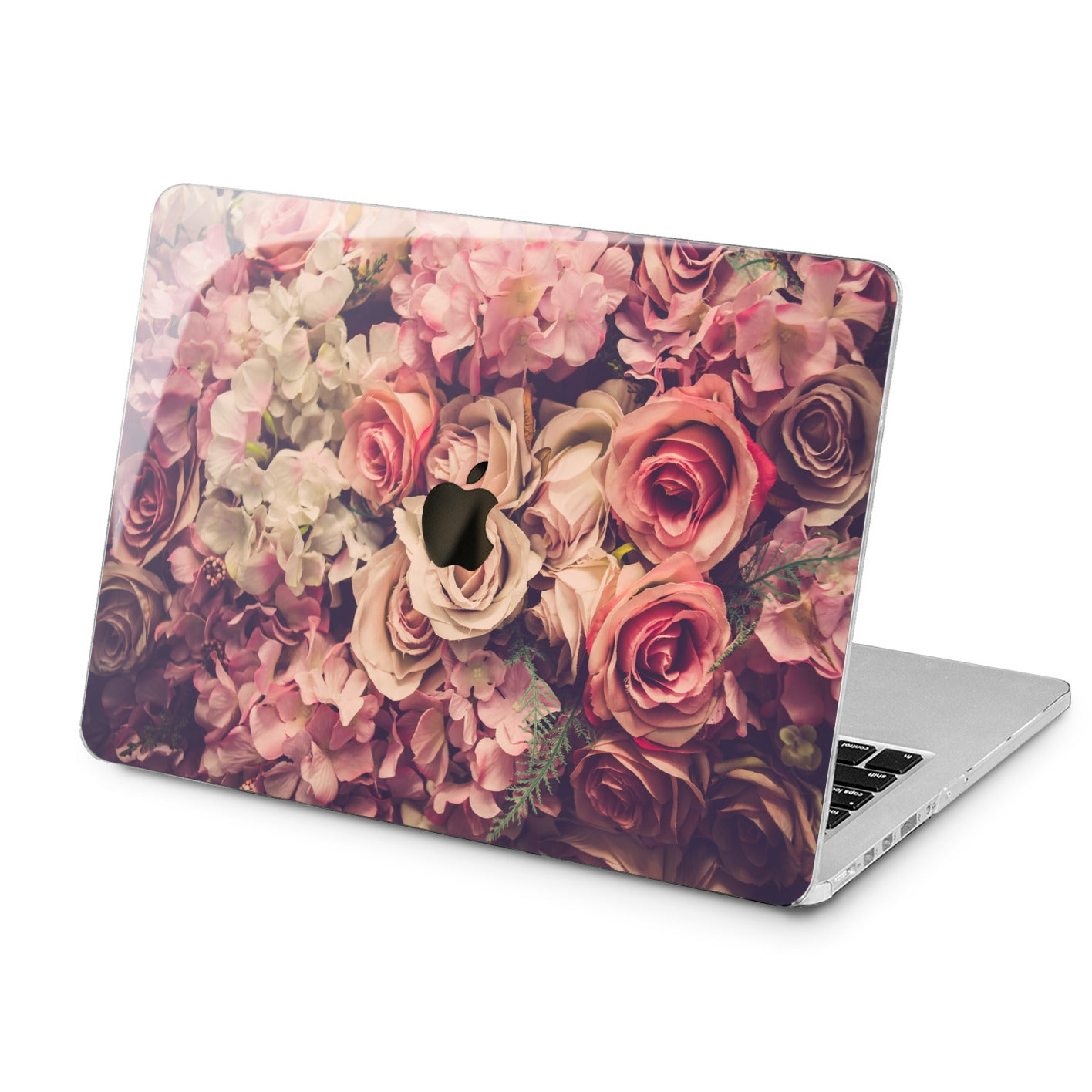 Lex Altern Lex Altern Beautiful Roses Case for your Laptop Apple Macbook.