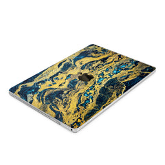 Lex Altern Hard Plastic MacBook Case Golden Rock