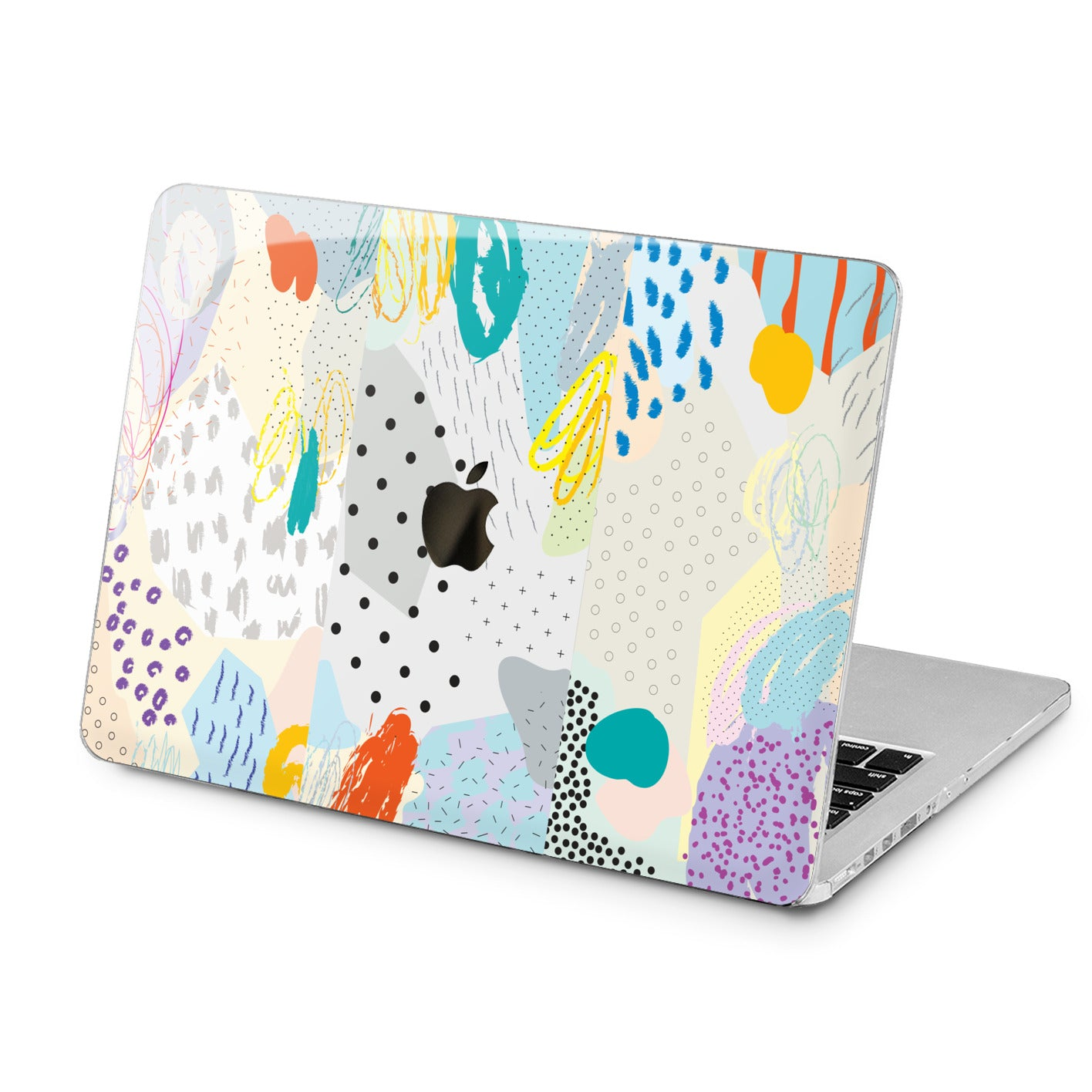 Lex Altern Lex Altern Cute Colored Art Case for your Laptop Apple Macbook.