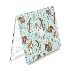 Lex Altern Hard Plastic MacBook Case Funny  Beaver