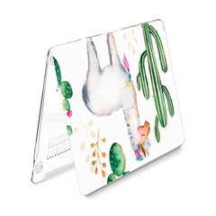 Lex Altern Hard Plastic MacBook Case Adorable Llama