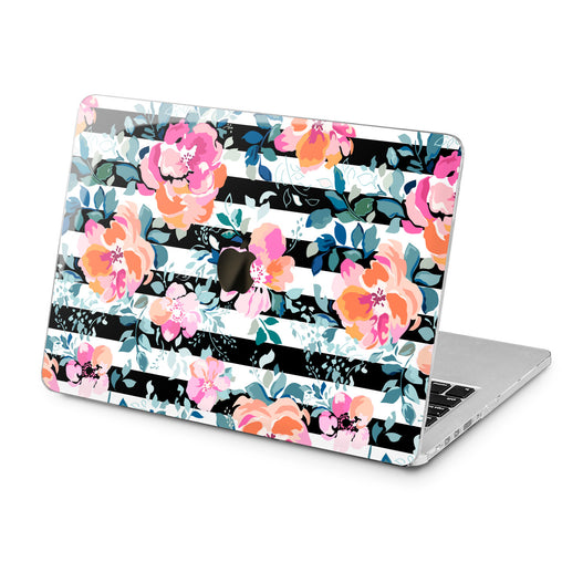 Lex Altern Lex Altern Abstract Roses Case for your Laptop Apple Macbook.