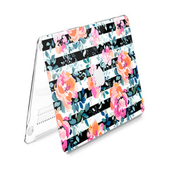 Lex Altern Hard Plastic MacBook Case Abstract Roses