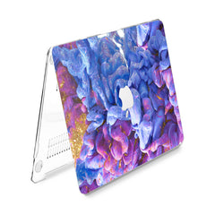 Lex Altern Hard Plastic MacBook Case Purple Seaweed