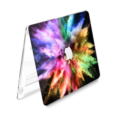 Lex Altern Hard Plastic MacBook Case Colorful Burst