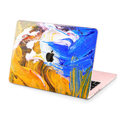Lex Altern Hard Plastic MacBook Case Gouaches Print