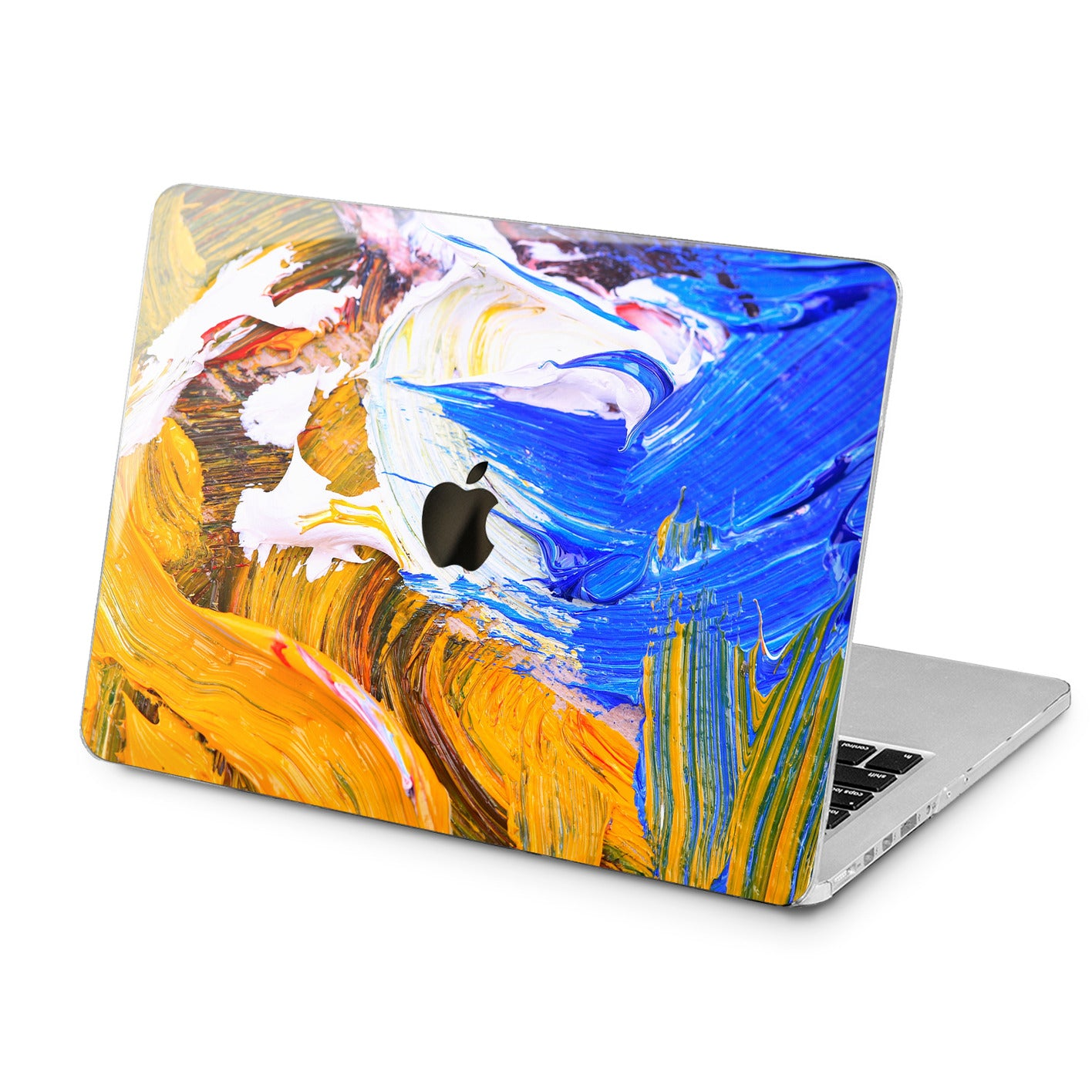Lex Altern Lex Altern Gouaches Print Case for your Laptop Apple Macbook.