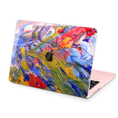 Lex Altern Hard Plastic MacBook Case Bright Gouaches Theme