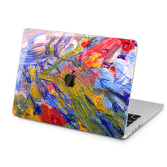 Lex Altern Lex Altern Bright Gouaches Theme Case for your Laptop Apple Macbook.
