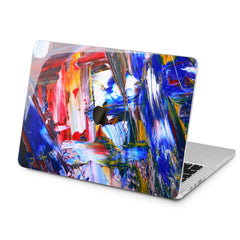 Lex Altern Lex Altern Colorful Brushes Theme Case for your Laptop Apple Macbook.