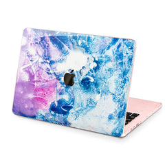 Lex Altern Hard Plastic MacBook Case Frozen Abstract