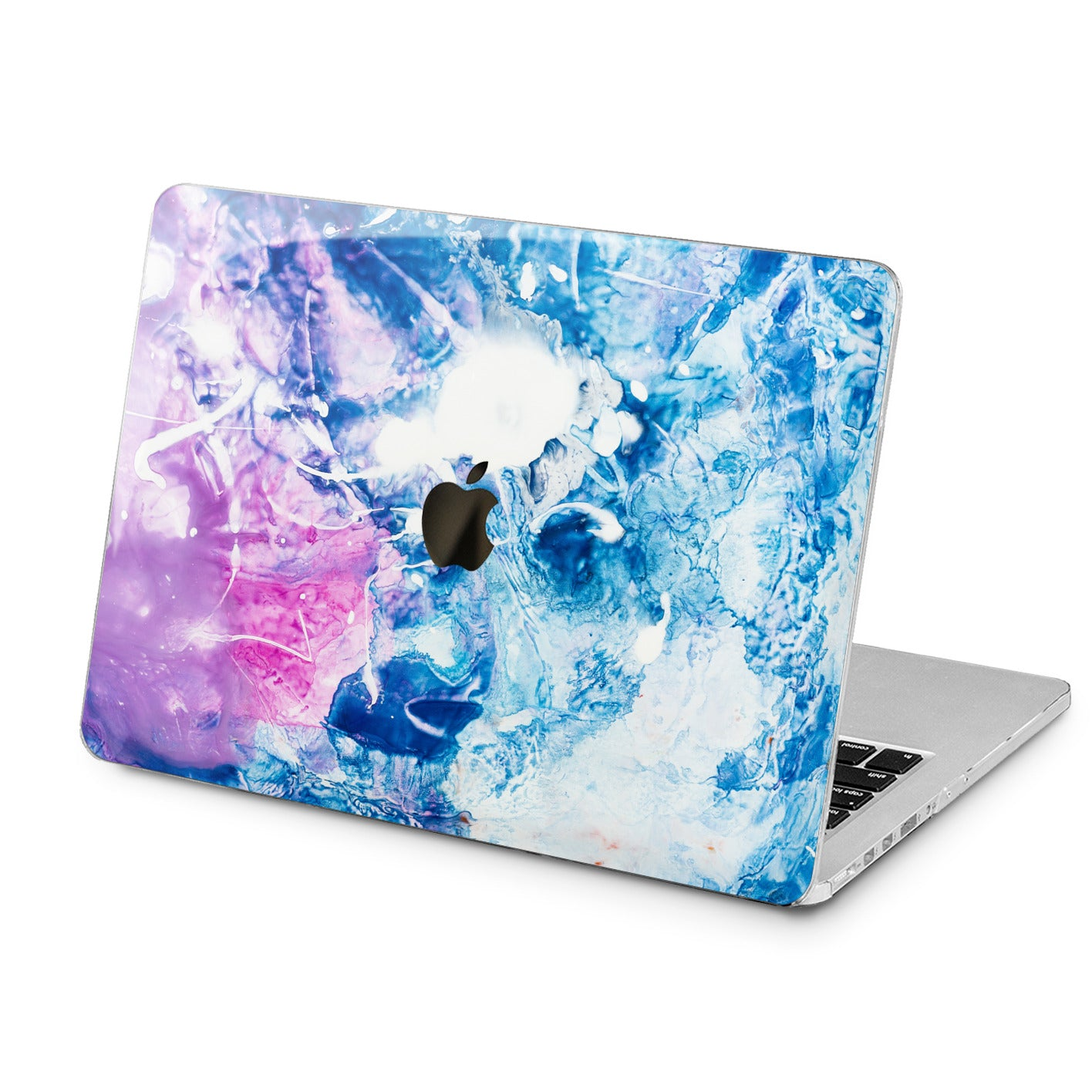 Lex Altern Lex Altern Frozen Abstract Case for your Laptop Apple Macbook.