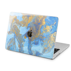 Lex Altern Lex Altern Beautiful Blue Paint Case for your Laptop Apple Macbook.