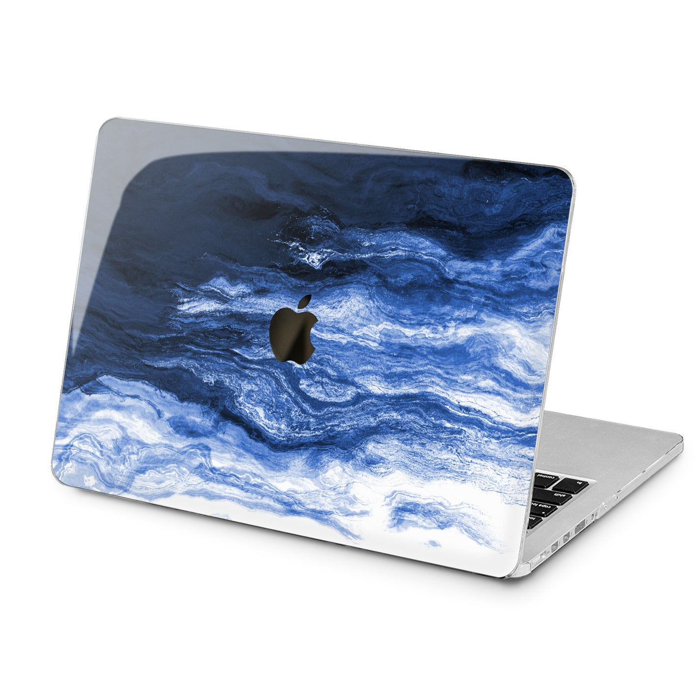 Lex Altern Lex Altern Creative Blue Art Case for your Laptop Apple Macbook.