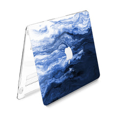 Lex Altern Hard Plastic MacBook Case Creative Blue Art