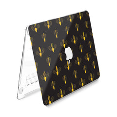 Lex Altern Hard Plastic MacBook Case Graphic Bee