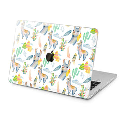 Lex Altern Lex Altern Gentle Llamas Case for your Laptop Apple Macbook.