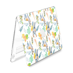 Lex Altern Hard Plastic MacBook Case Gentle Llamas