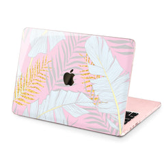 Lex Altern Hard Plastic MacBook Case Golden Fern