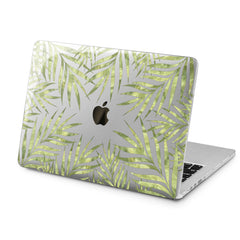 Lex Altern Lex Altern Gentle Green Branches Case for your Laptop Apple Macbook.