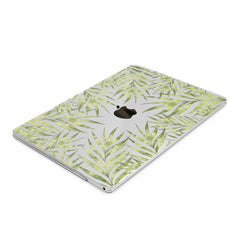 Lex Altern Hard Plastic MacBook Case Gentle Green Branches