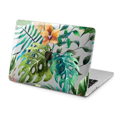 Lex Altern Lex Altern Floral Monstera Case for your Laptop Apple Macbook.