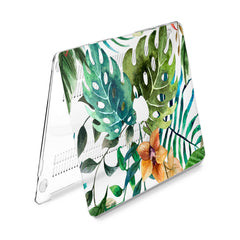 Lex Altern Hard Plastic MacBook Case Floral Monstera