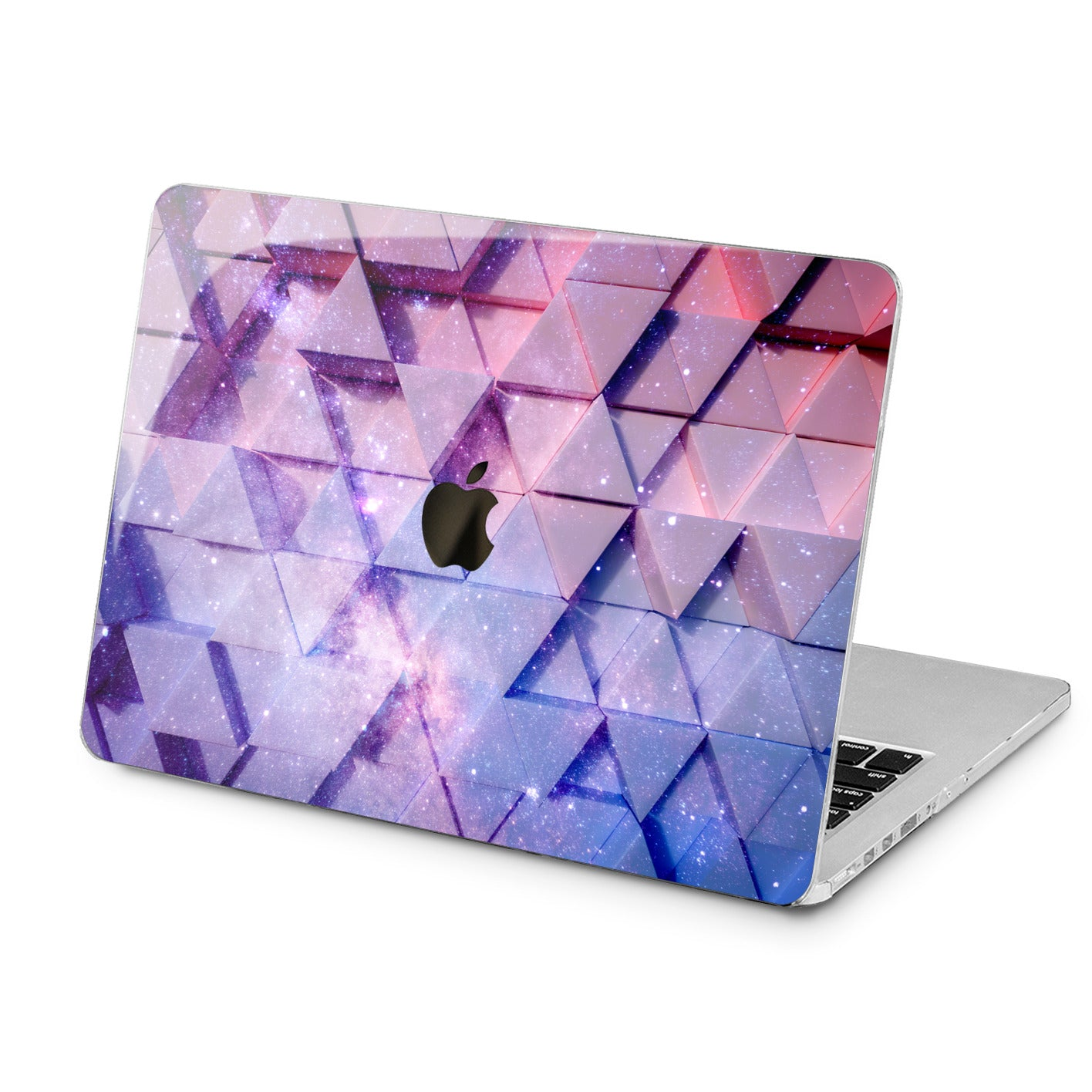 Lex Altern Lex Altern Galaxy Triangles Case for your Laptop Apple Macbook.