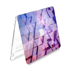 Lex Altern Hard Plastic MacBook Case Galaxy Triangles