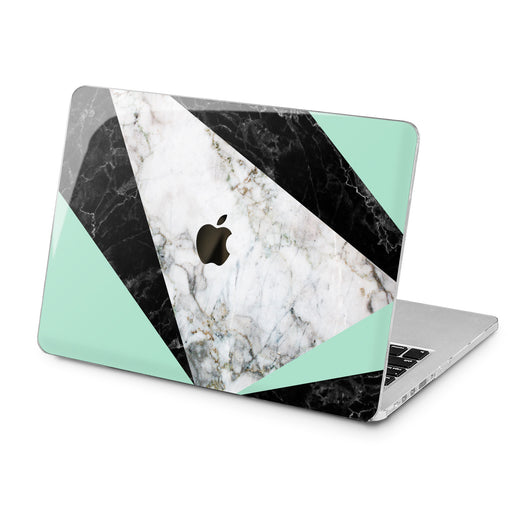 Lex Altern Lex Altern Marble Geometry Case for your Laptop Apple Macbook.