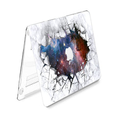 Lex Altern Hard Plastic MacBook Case Galaxy Marble