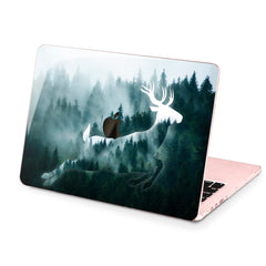 Lex Altern Hard Plastic MacBook Case Foggy Deer