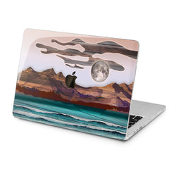 Lex Altern Lex Altern Abstract Mountains Case for your Laptop Apple Macbook.