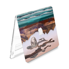 Lex Altern Hard Plastic MacBook Case Abstract Mountains