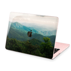 Lex Altern Hard Plastic MacBook Case Forest Mountain