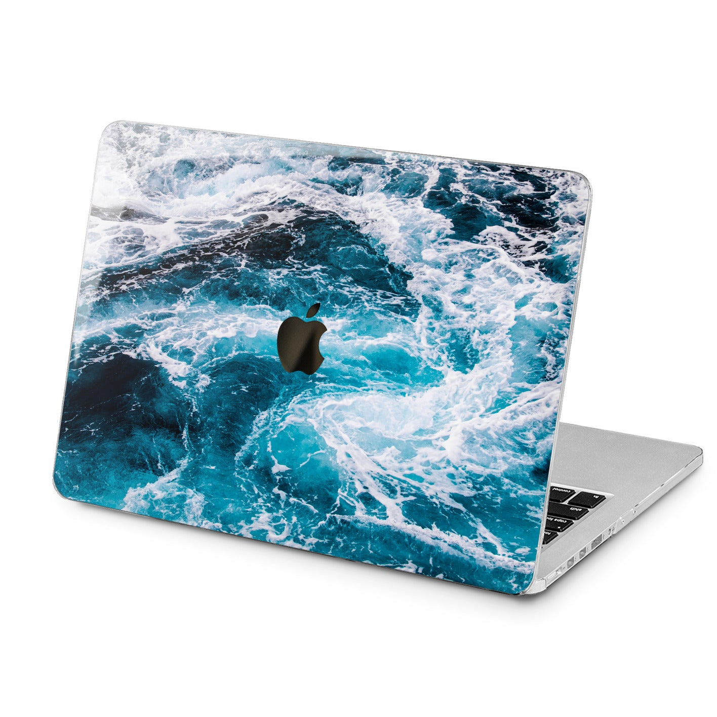 Lex Altern Lex Altern Sea Waves Theme Case for your Laptop Apple Macbook.