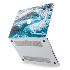 Lex Altern Hard Plastic MacBook Case Sea Waves Theme