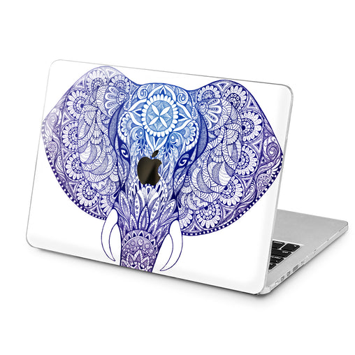 Lex Altern Lex Altern Indian Elephant Case for your Laptop Apple Macbook.