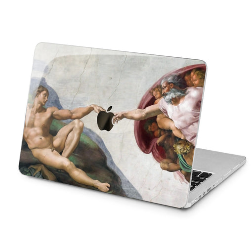 Lex Altern Lex Altern Adam Drawing Case for your Laptop Apple Macbook.
