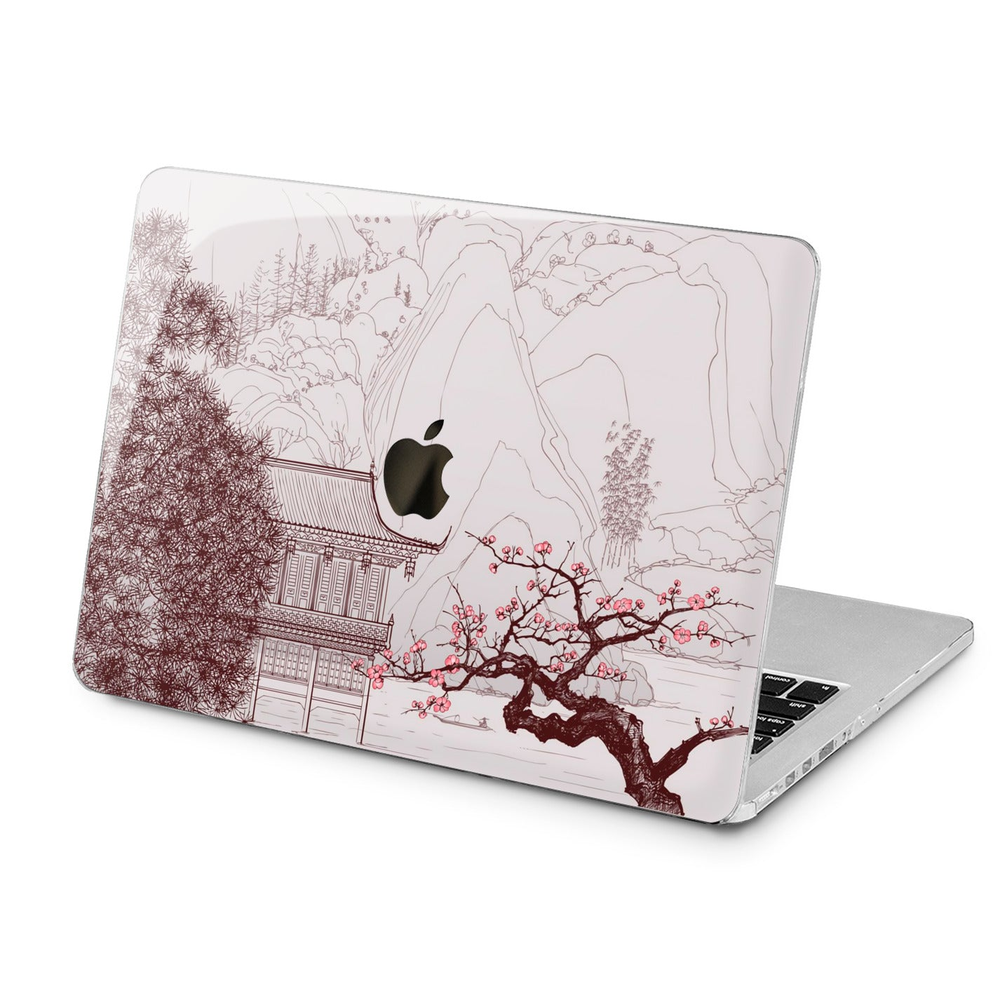 Lex Altern Lex Altern Japanese Art Case for your Laptop Apple Macbook.