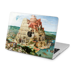 Lex Altern Lex Altern Babel Tower Print Case for your Laptop Apple Macbook.